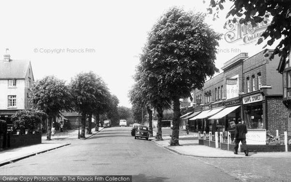 Osterley, Thornbury Road 1955