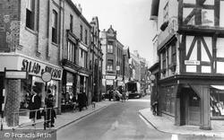 Bailey Street 1957, Oswestry