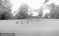 Cae Glas Park c.1955, Oswestry