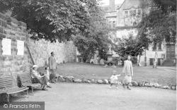 Castle Gardens c.1955, Oswestry