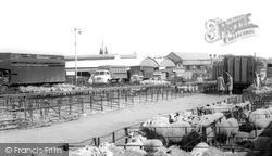 Cattle Market c.1960, Oswestry