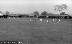 Cricket And Football Ground, Park Hall Camp c.1960, Oswestry