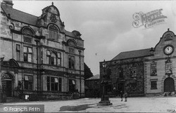 Guildhall Square c.1955, Oswestry