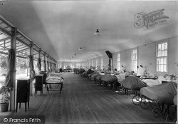 Interior Of A  Ward, Orthopaedic Hospital c.1939, Oswestry