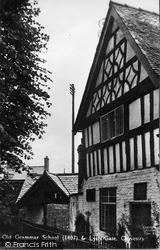 Old Grammar School And Lych Gate c.1939, Oswestry