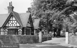 Post Office And Main Avenue, Park Hall Camp c.1960, Oswestry