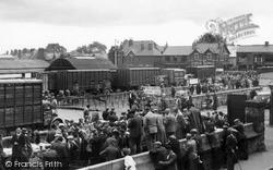Smithfield Cattle Market c.1955, Oswestry