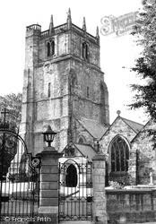 St Oswald's Parish Church c.1960, Oswestry