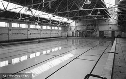 The Swimming Pool c.1960, Oswestry