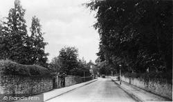 Welshpool Road c.1939, Oswestry