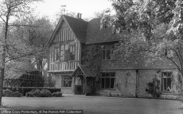 Otford, Broughton Manor House c1955
