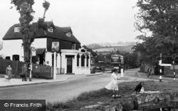 Otford, High Street And Pond c.1955
