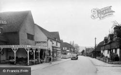 Otford, High Street c.1955