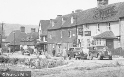 Otford, Houses By The Pond c.1955