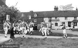 Otford, Morris Dancing c.1955