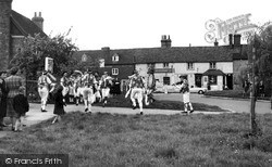 Otford, Morris Dancing On The Green c.1955