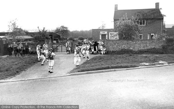 Otford, Morris Dancing on the Green c1955