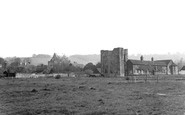Otford, Palace Ruins and Church c1950