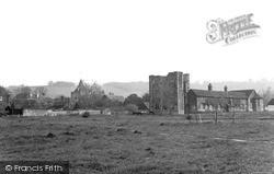 Otford, Palace Ruins And Church c.1950