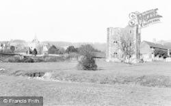 Otford, Palace Ruins And Church c.1955