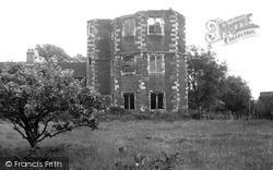 Otford, Ruins Of Archbishop Warham's Palace  c.1950