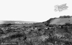 Otford, Shoreham Cross From The Mount c.1960
