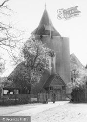 Otford, St Bartholomew's Church c.1955