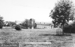 Otford, The Palace And Church c.1960