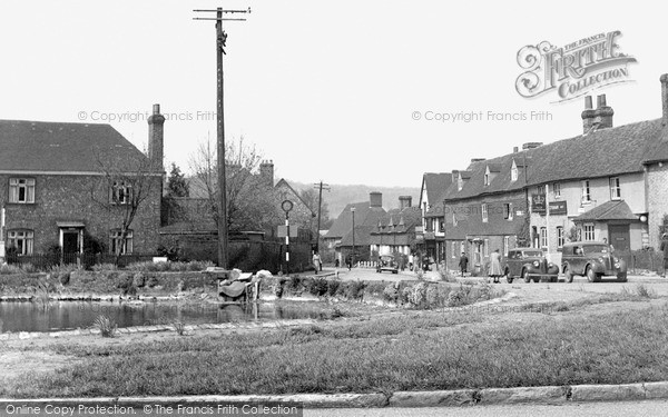 Otford, the Pond c1955