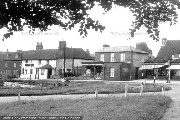 Otford, the Village c1955