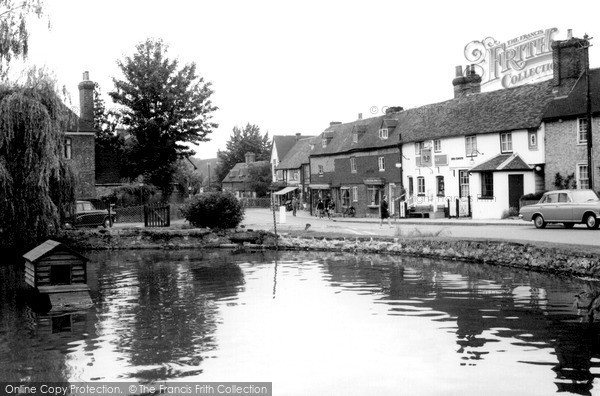 Otford, Village Pond c1965