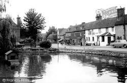 Otford, Village Pond c.1965