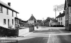 Othery, Main Road c.1955