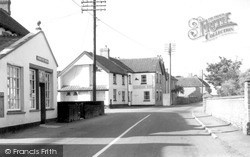Othery, Post Office c.1955