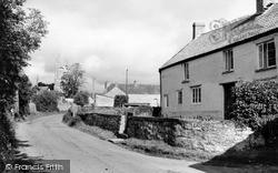 Othery, Rye Lane c.1955