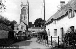 Othery, The Church c.1955