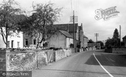 Othery, The Main Road c.1955