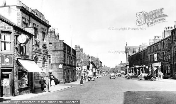 Photo of Otley, Boroughgate c.1955