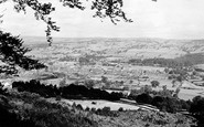 Otley, from the Chevin c1965
