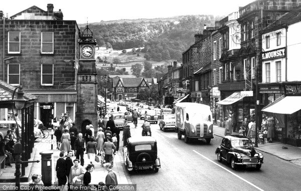 Otley, Kirkgate c1960