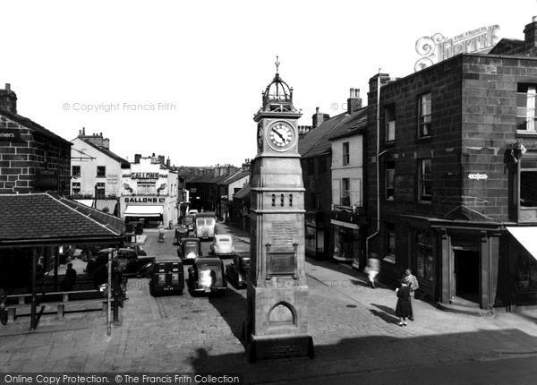 Photo of Otley, Market Place c.1955