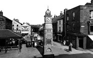 Otley, Market Place c1955