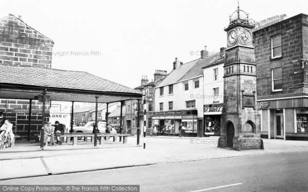 Otley, Market Place c1965