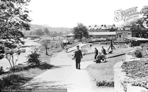 Otley, Wharfeside Park c1960