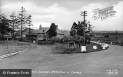 Camp, The Lodge c.1955, Otterburn
