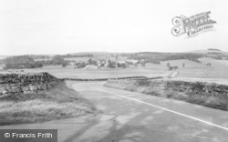 Otterburn, General View From South West c.1955