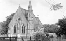 St John's Church c.1955, Otterburn