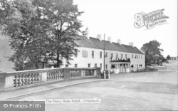 Otterburn, The Percy Arms Hotel c.1955