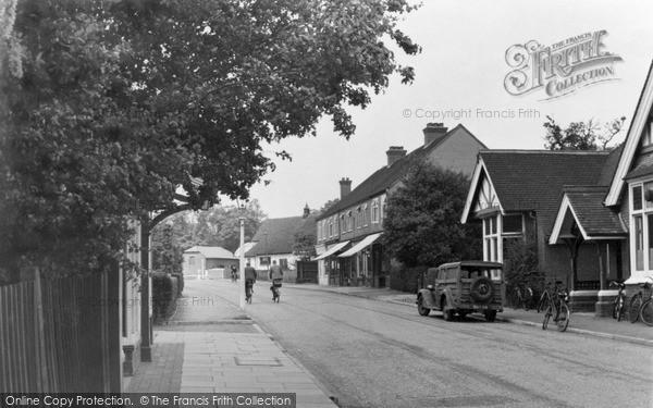Ottershaw, Brox Road c1955