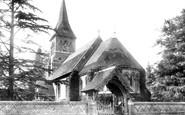Ottershaw, Church and Lychgate 1906